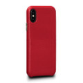 Sena Kyla LeatherSkin - minimalist genuine leather case - iPhone X/XS, Red