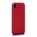 Sena Kyla LeatherSkin - minimalist genuine leather case - iPhone XR, Red