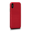 Sena Kyla LeatherSkin - minimalist genuine leather case - iPhone XS Max, Red