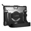 UAG Urban Armor Gear - Plasma - rugged military spec protection with handstrap and shoulder strap - Microsoft Surface Go, Black/Clear