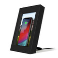 Twelve South PowerPic - Wireless phone charger and picture frame, Black