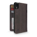 Twelve South BookBook Vintage Style Wallet Style Leather Case - iPhone XR, Vintage Brown