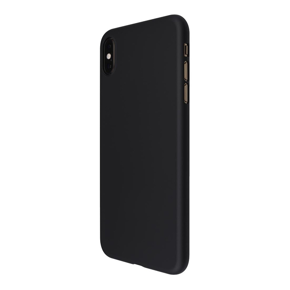 low priced 0c72b 49edd Power Support Air Jacket - Ultra thin protection case - iPhone XS Max,  Rubberised Black