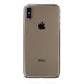 Power Support Air Jacket - Ultra thin protection case - iPhone XS Max, Clear/Black