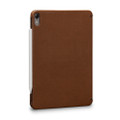 Sena Future Folio - genuine leather folio case with card slot - iPad Pro 11, Brown