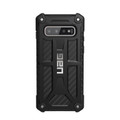 UAG Urban Armor Gear - Monarch Series impact resistant rugged Case - Galaxy S10, Black Carbon Fibre