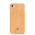 Woodcessories - EcoSlim- genuine wood ultraslim case - iPhone 7/8, Cherry