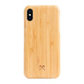 Woodcessories - EcoSlim- genuine wood ultraslim case - iPhone X/XS, Bamboo