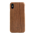 Woodcessories - EcoSlim- genuine wood ultraslim case - iPhone X/XS, Walnut