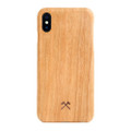 Woodcessories - EcoSlim- genuine wood ultraslim case - iPhone X/XS, Cherry