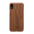 Woodcessories - EcoSlim- genuine wood ultraslim case - iPhone XR, Walnut