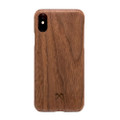 Woodcessories - EcoSlim- genuine wood ultraslim case - iPhone XS Max, Walnut