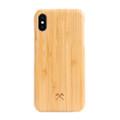 Woodcessories - EcoSlim- genuine wood ultraslim case - iPhone XS Max, Bamboo