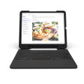 Zagg Slim Book Go Ultra Slim Keyboard Case, Bluetooth keyboard with detachable case, iPad 12.9 (3rd Gen / 2018)