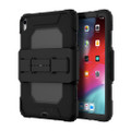 Griffin Survivor All-Terrain Rugged Protection Case with screen protector and hand strap - iPad Pro 11, Black
