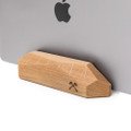 Woodcessories - EcoRest premium wood desktop stand for MacBook - Oak