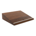 Woodcessories - EcoStand premium wood desktop stand for MacBook and Laptops - Walnut