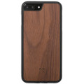 Woodcessories - EcoBump - genuine wood bumper case - iPhone 7/8 Plus, Walnut