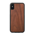 Woodcessories - EcoBump - genuine wood bumper case - iPhone XS Max, Walnut