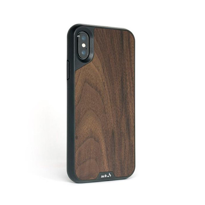 timeless design 35a46 505ca Mous Limitless 2.0 impact protection case - Walnut Wood inlay - iPhone XS  Max,