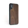 Mous Limitless 2.0 impact protection case - Walnut Wood inlay - iPhone XS Max,