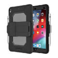 Griffin Survivor All-Terrain Heavy Duty Rugged Case with screen protector - iPad Pro 10.5 / Air 3, Clear/Black