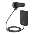 Belkin Road Rockstar - 4 Port USB Car Charger - 1.8 metre cable - front and back seat passengers