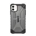 UAG Urban Armor Gear - Plasma Series impact resistant rugged Case - iPhone 11, Ash - Smoke/Black