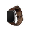 Sena Deen - Genuine Leather Watch Band for Apple Watch 42/44mm - Brown
