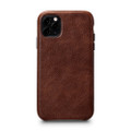 Sena LeatherSkin - minimalist genuine leather case - iPhone 11 Pro, Cognac Brown
