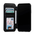 Sena Wallet Book - Genuine Leather Folio Case - iPhone 11 Pro Max, Black