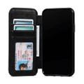 Sena Wallet Book - Genuine Leather Folio Case - iPhone 11 Pro Max, Black