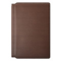 Nomad Passport Wallet Modern - Horween vegetable tanned genuine leather, Rustic Brown