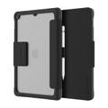 Griffin Survivor Tactical Folio Case with shock absorbing bumpers - iPad 10.2 / 7th Gen, Black