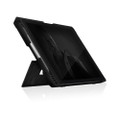 STM Dux Shell - Rugged heavy duty protection case - Surface Pro 4, 5, 6 and 7 - Black