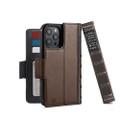 Twelve South BookBook Vintage Wallet Style Leather Case (MagSafe) - iPhone 12 / 12 Pro, Brown