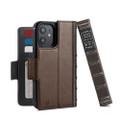 Twelve South BookBook Vintage Wallet Style Leather Case (MagSafe) - iPhone 12 Mini, Brown