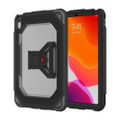 Griffin Survivor All-Terrain Rugged Protection Case with screen protector - iPad Air 4th Gen / 10.9 (2020), Black/Clear