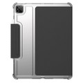 UAG Urban Armor Gear - U Lucent folio case - translucent drop protection body - iPad Pro 12.9 (5th and 4th Gen) - Black/Clear