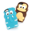 Griffin Kazoo - soft silicone case - fun and cute animal design ideal for both adults and kids - iPhone 5/5s/SE