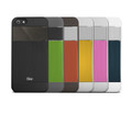 iSkin Aura case -– Ultra Slim with Brushed Aluminium Finish - iPhone 5/5s