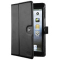 Sena Folio Case with stand - Genuine Premium Leather - iPad Mini, Black