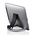 Just Mobile Encore Desktop stand fits all iPads and iPad Mini, Silver