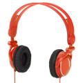 KidzGear Headphones for Children/Kids - volume limiting - Orange