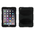 Griffin Survivor All-Terrain Heavy Duty Case (dirt, sand, rain, shock, vibration protection) & screen protection - iPad Air 2, Black