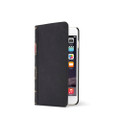 Twelve South BookBook Vintage Style Wallet Style Leather Case - iPhone 6, Classic Black