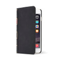 Twelve South BookBook Vintage Style Wallet Style Leather Case - iPhone 6 Plus / 6s Plus, Classic Black