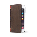 Twelve South BookBook Vintage Style Wallet Style Leather Case - iPhone 6 Plus / 6s Plus, Vintage Brown