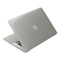 "Power Support Air Jacket - Ultra thin protection case - 13"""" MacBook Air - Clear/Black"