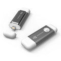 iKlips Apple Lightning and USB 3.0 Flash drive - backup, playback video, audio and more - iPhone or iPad, 32GB, Grey